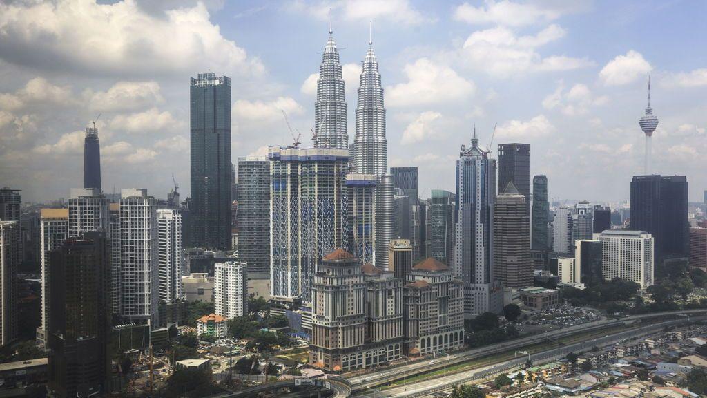 Kuala Lumpur desde las alturas