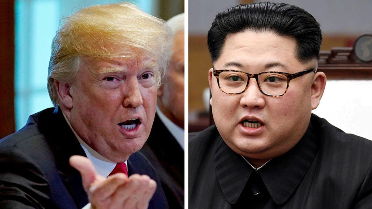 """Trump dice ahora que la cumbre con Kim Jong-un podría ser el 12 de junio: """"Veremos qué ocurre"""""""