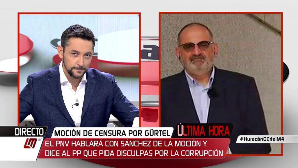 """Losada: """"Hay demasiados actores cegados por el olor de la sangre política de Rajoy"""""""