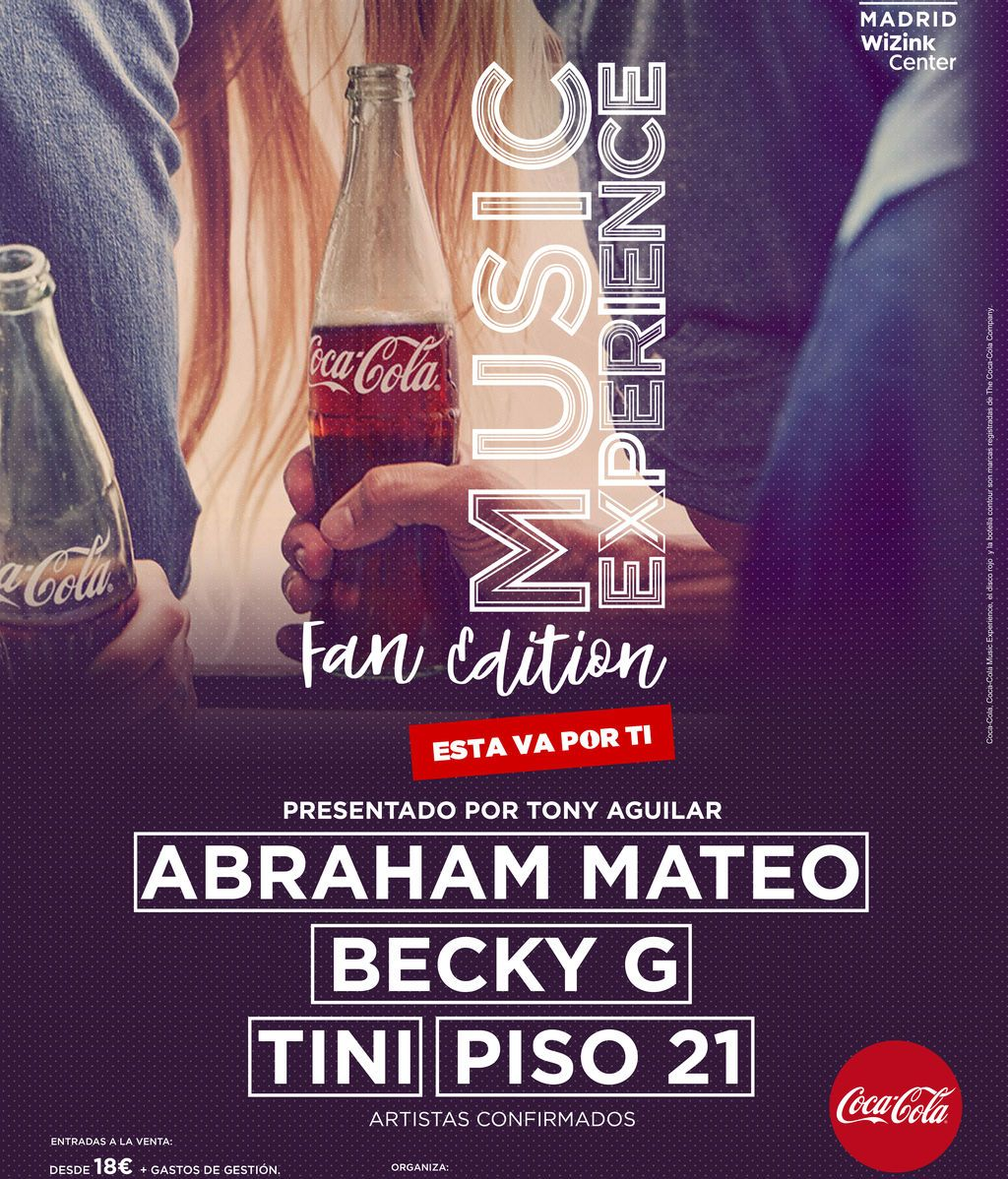 ¡Llega Coca-Cola Music Experience Fan Edition!