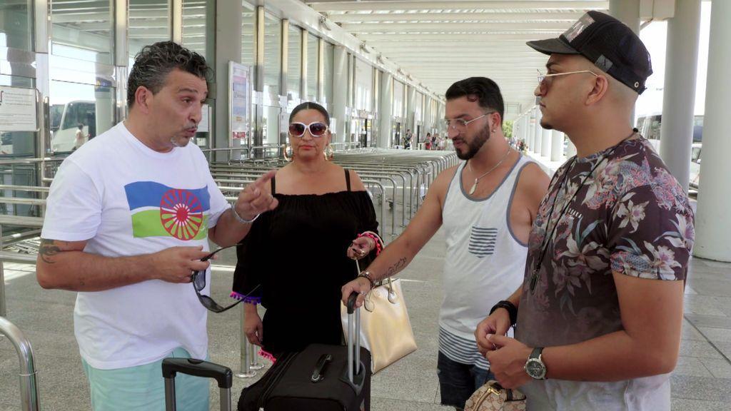 Una visita inesperada: Joaquín vuela a Japón y su suegro se queda a cargo de sus nietos