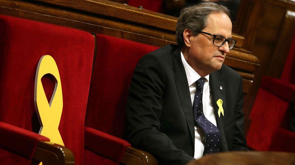 """Torra pide por carta a Rajoy que publique """"inmediatamente"""" a los consellers y dé fin al 155"""