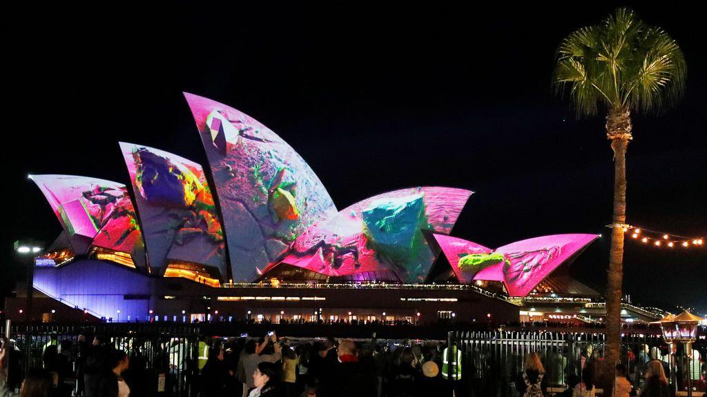 El inicio oficial de Vivid Sydney levanta una gran expectación
