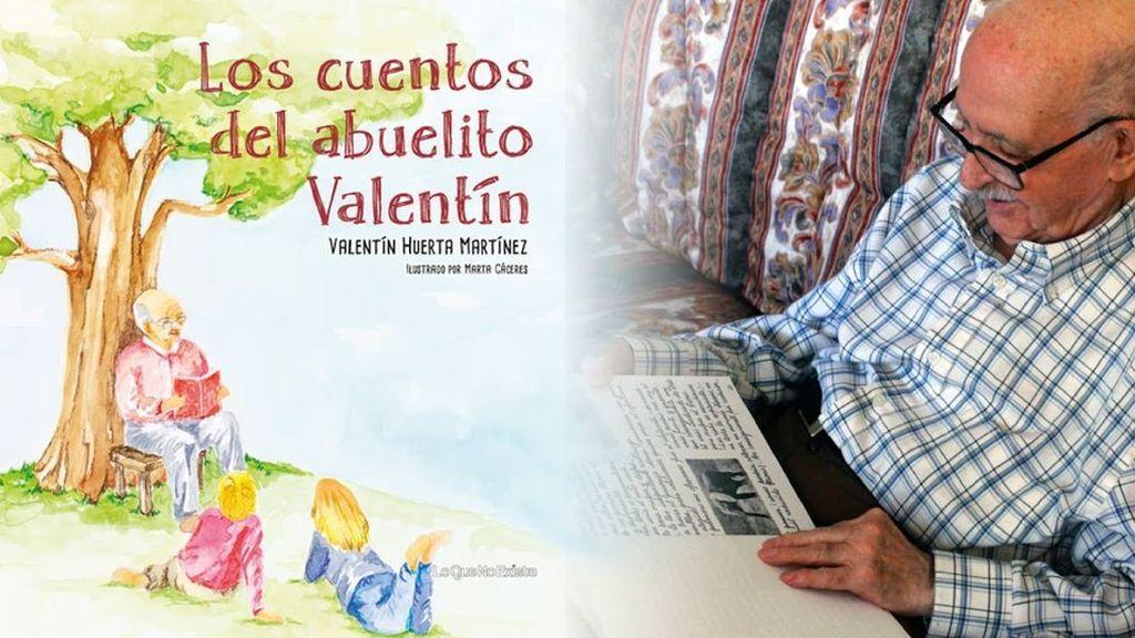 Érase una vez... la historia del 'abuelito' Valentín: publica su primer libro a los 90 años