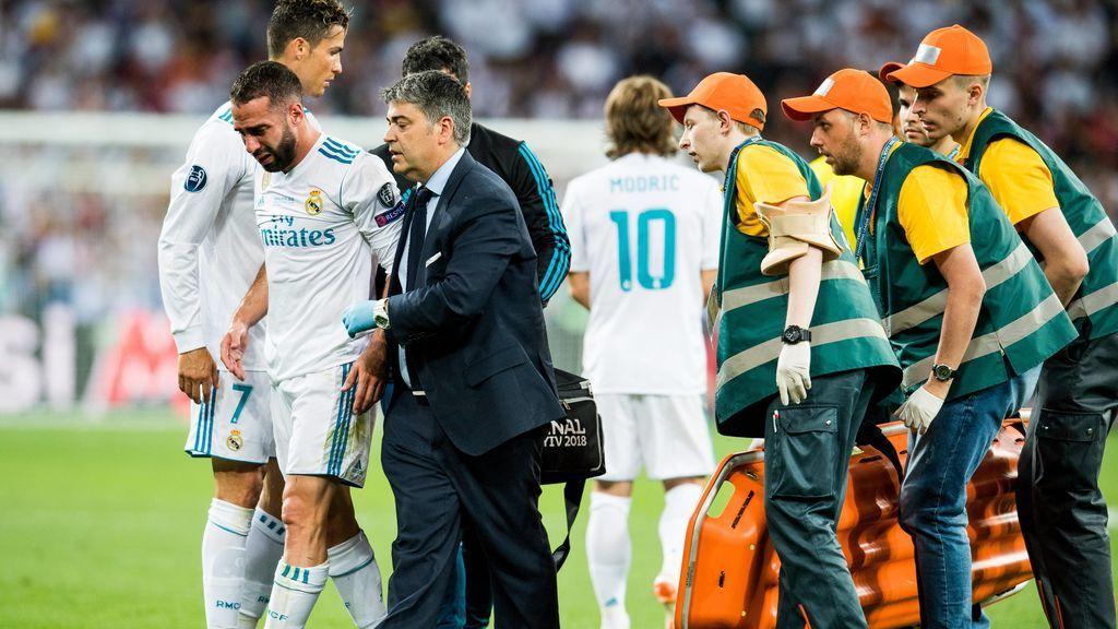 El llanto de Carvajal tras lesionarse en la final de Champions emociona al madridismo