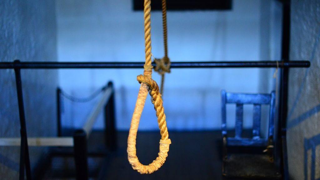 Ahorcado como pena por asesinato y robo en Botsuana (África)