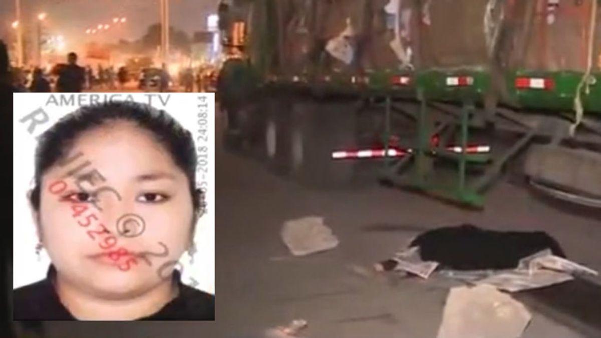 Trágico aniversario: muere una mujer al caer de su moto y ser arrollada por un tráiler