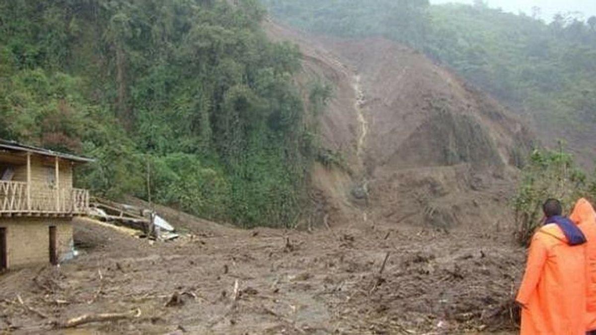 4 menores desaparecen en Perú tras ser arrastrados por un deslizamiento de tierras