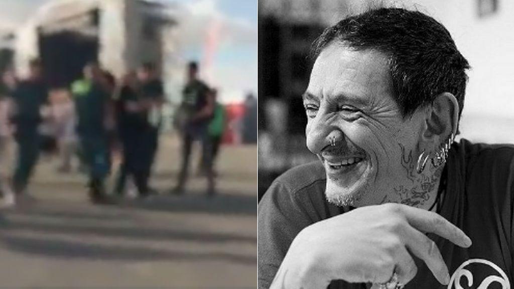 Evaristo, cantante de 'Gatillazo', retenido por la Guardia Civil al término de un concierto en Jerez