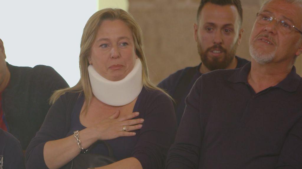 """Una mujer del público agradece emocionada a Iniesta su gesto de humanidad el día del accidente: """"Estuviste pendiente de mi hijo"""""""