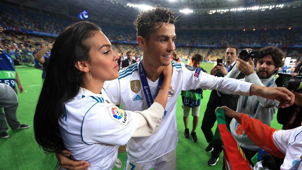 """Georgina felicita a Cristiano tras ganar la Champions: """"Eres un ejemplo para todo el mundo"""""""