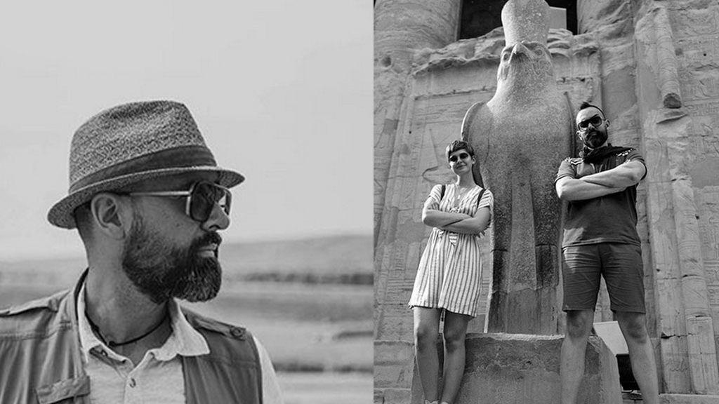 Las impresionantes fotos en blanco y negro de Risto Mejide en su viaje a Egipto