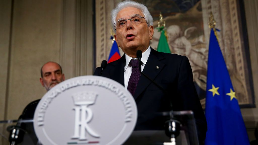 Conte renuncia a formar gobierno en Italia tras el veto de Mattarella a su ministro de Economía