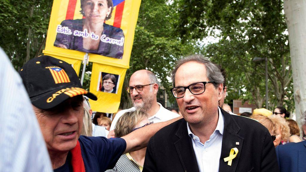 Torra ve esencial para apoyar la moción de Sánchez abordar la libertad de los presos independentistas