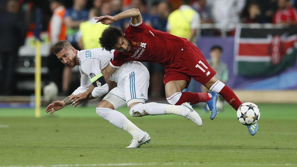 """La prensa egipcia carga contra Ramos tras la lesión de Salah: """"Es un carnicero, que Dios se encarge…"""""""