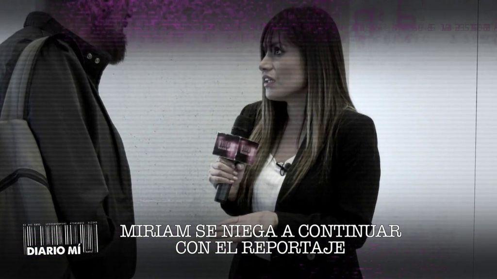 Miriam Saavedra se niega a grabar su primer 'Diario Mi'
