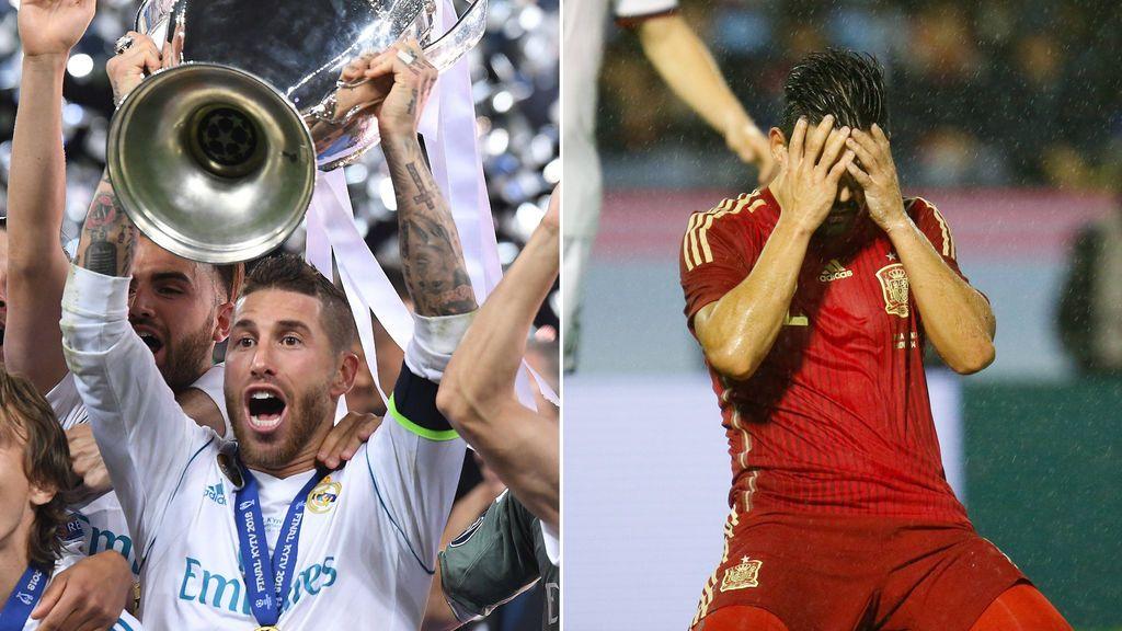 Siempre que el Real Madrid gana la Champions, España no pasa de cuartos de un gran torneo