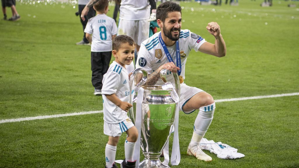El tierno mensaje de Isco a su hijo de tres años tras ganar la Champions