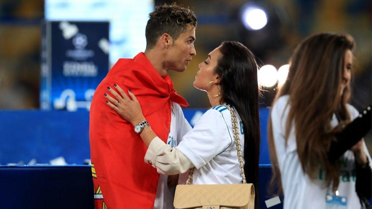Georgina Rodríguez alucina con los músculos de Cristiano Ronaldo en el gimnasio de su casa