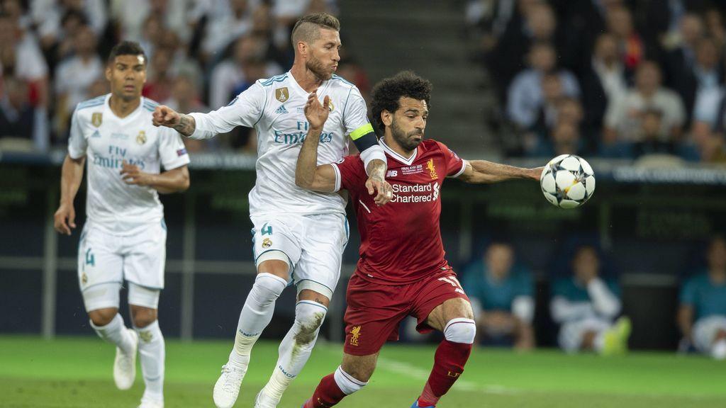 Abren una petición en 'Change.org' para que sancionen a Sergio Ramos por la lesión de Salah
