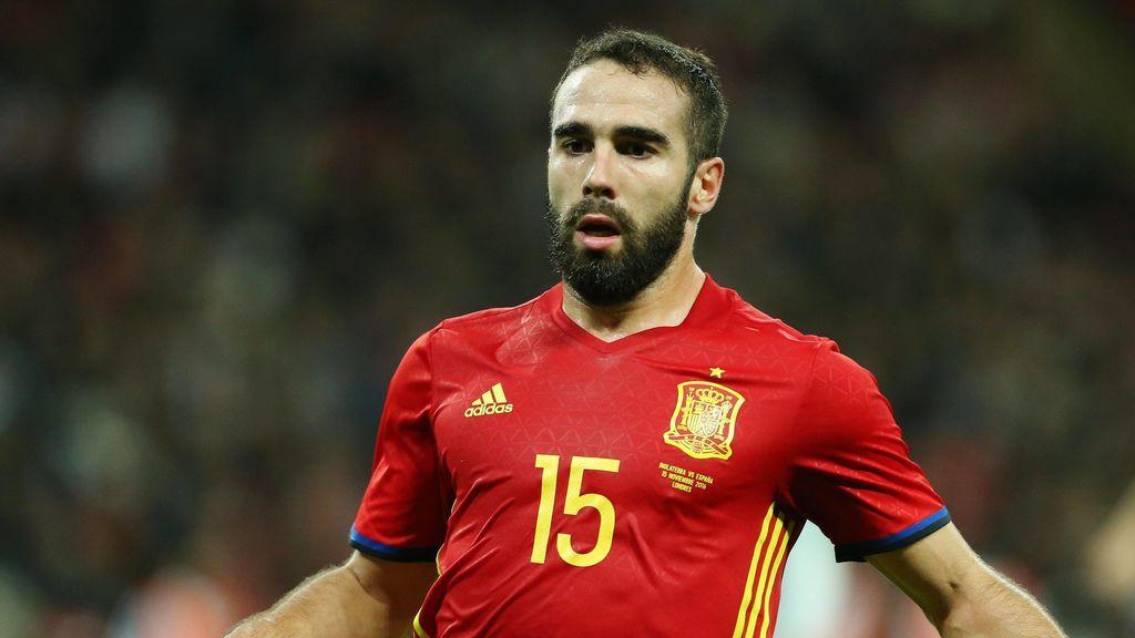 Dani Carvajal se incorpora con la selección española y estará en el Mundial de Rusia