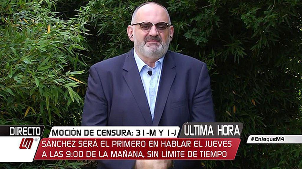 """Antón Losada: """"Esto parece la 'Moción fast a furious 8"""""""