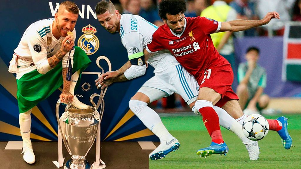 "Iturralde González: ""La jugada de Sergio Ramos a Salah no es intencionada"""