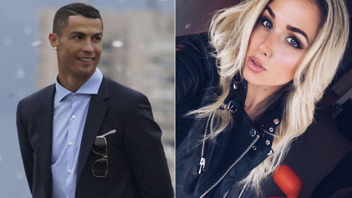 Daniella Grace,el mejor apoyo de Karius tras sus fallos en la Champions, fue 'amiga' de Cristiano Ronaldo antes de conocer a Georgina