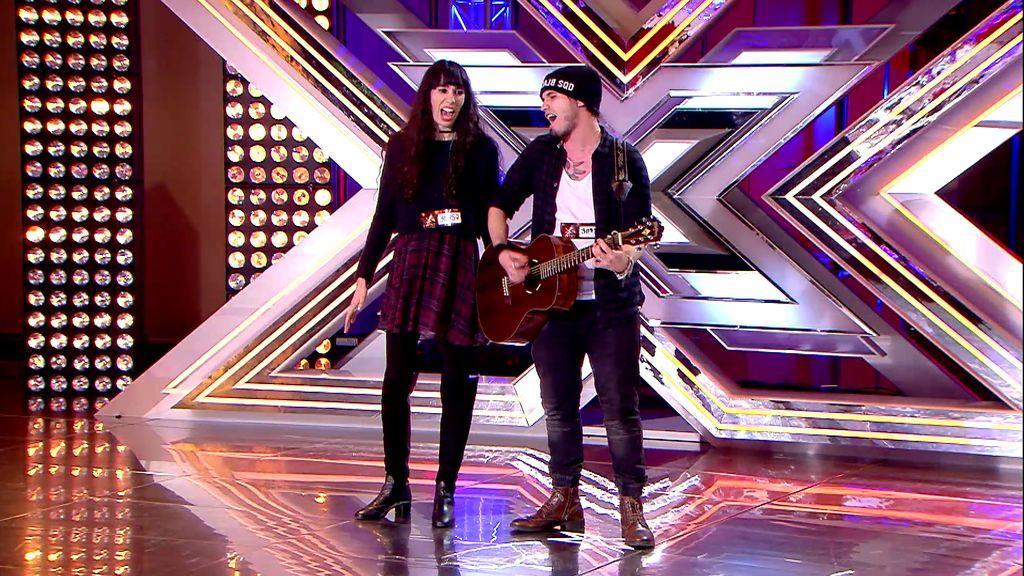 """Lyla y Javi enamoran a Pausini con su manera de cantar: """"Ahora a hacer el amor"""""""