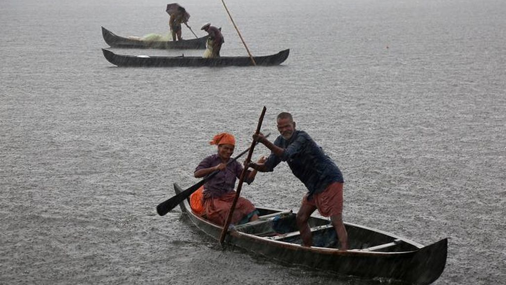 Pescadores de la India