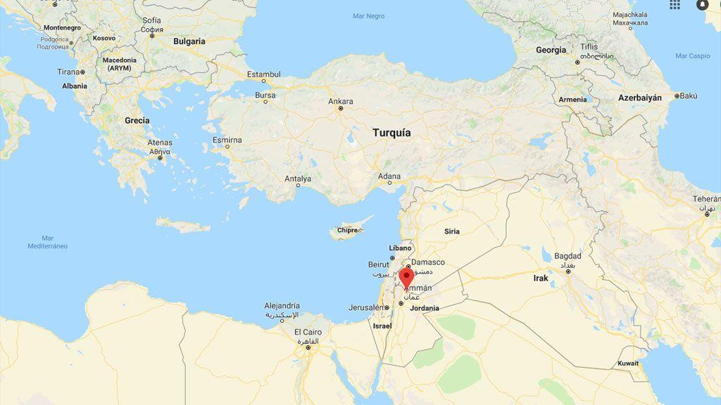 mapa amman