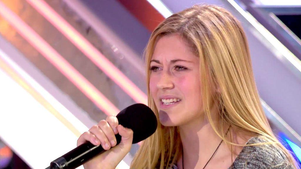 """Xavi Martínez, a Andrea: """"Eres el 'Factor X' más dulce del programa"""""""