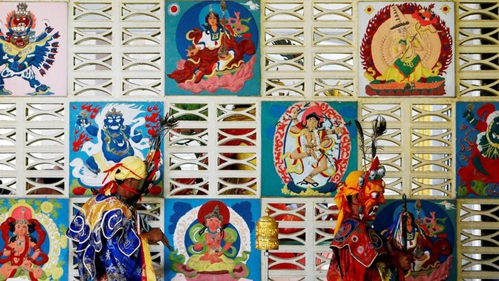 Rituales budistas en Malasia