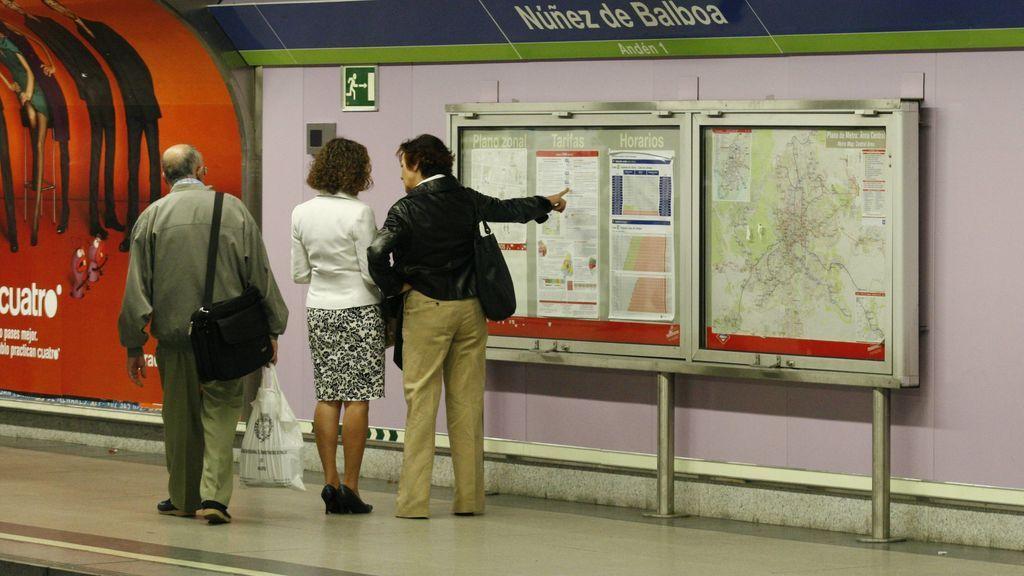 La madre que estuvo cuatro horas perdida en el metro