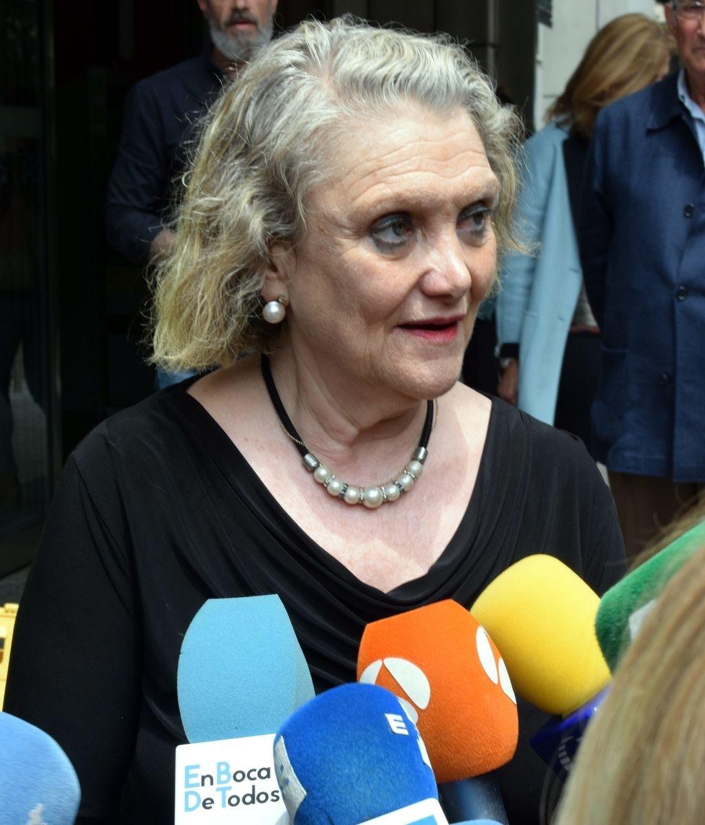 Helena Fernán Gómez, hija de María Dolores Pradera