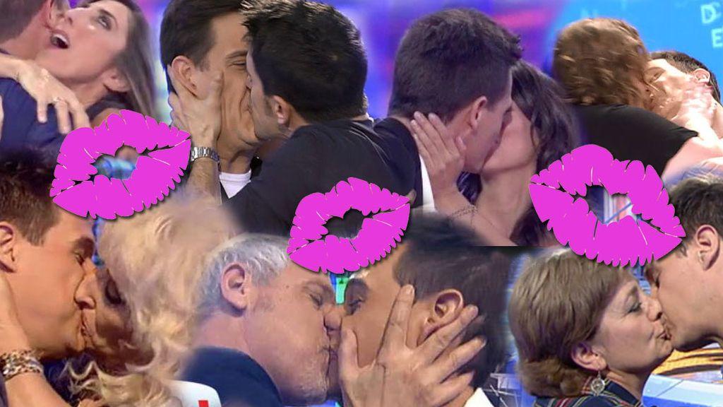 Los besos de Christian Gálvez: Del morreo de Itziar Castro al besazo de Alejo Sauras