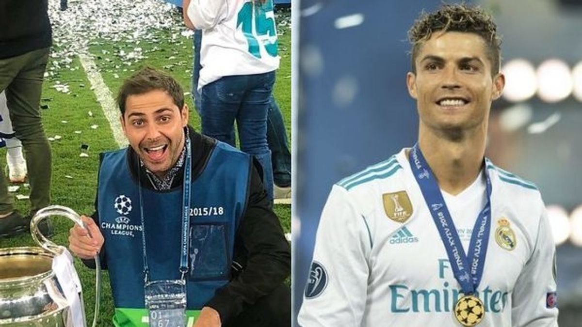 El empujón viral de Cristiano Ronaldo a un 'influencer' que el pidió una foto tras ganar la Champions