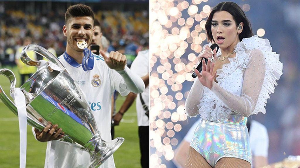 Marco Asensio y Dua Lipa, ¿algo más que amigos tras conocerse en la fiesta de la Champions?