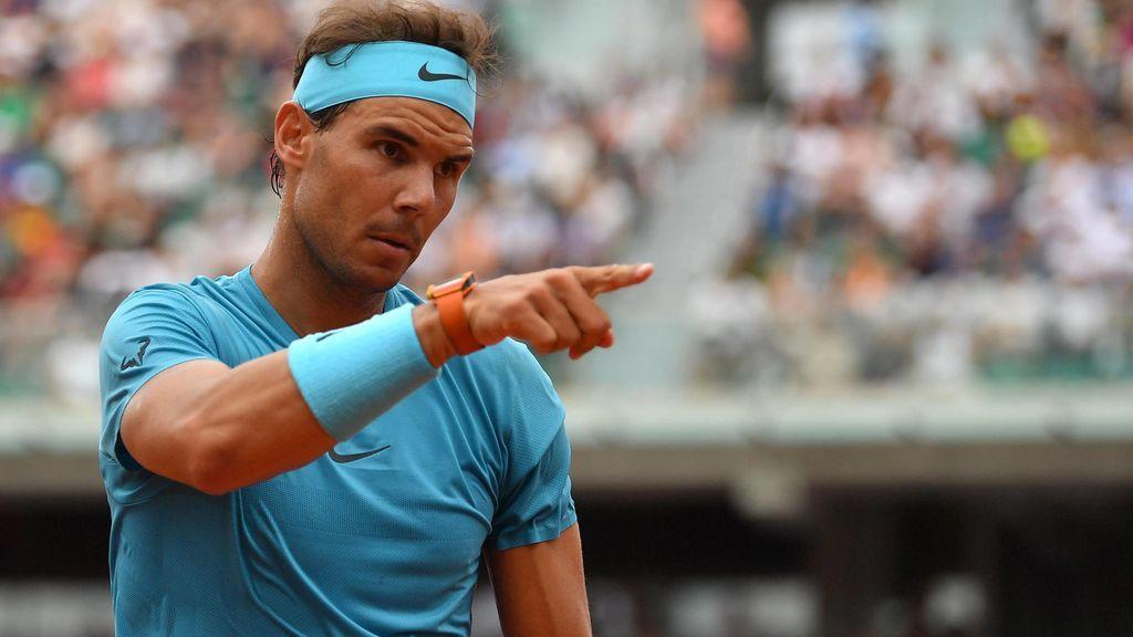 Rafa Nadal se estrena con victoria en Roland Garros en un agónico 'tiebreak' ante Bolelli