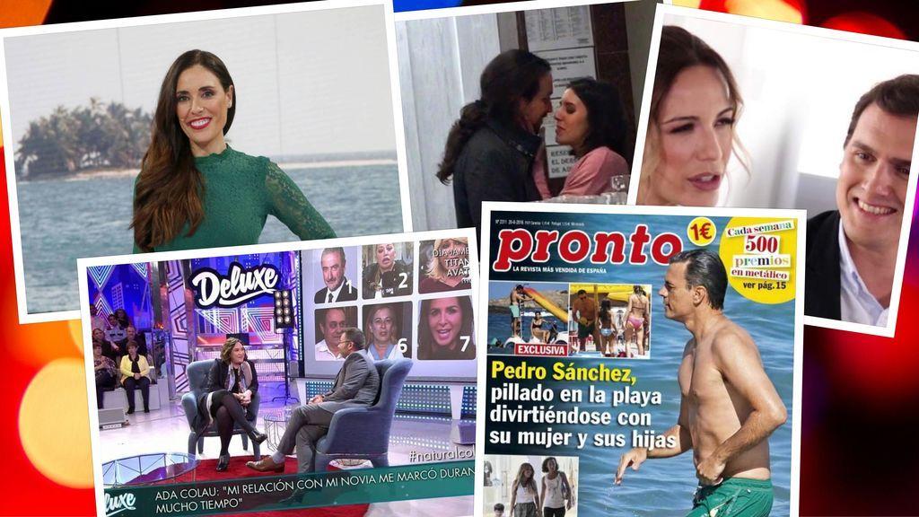 La política tira de la prensa rosa: La presidencia se juega en el papel couché