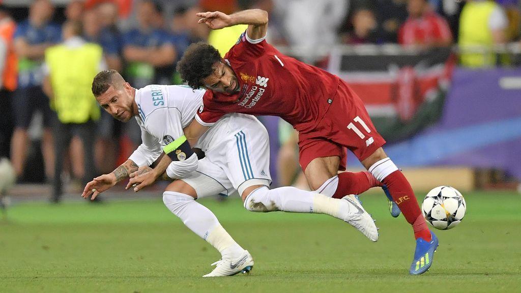 """La Unión Europea de Judo, sobre la acción de Sergio Ramos y Salah: """"Una  llave prohibida en el judo que gana una Champions"""""""