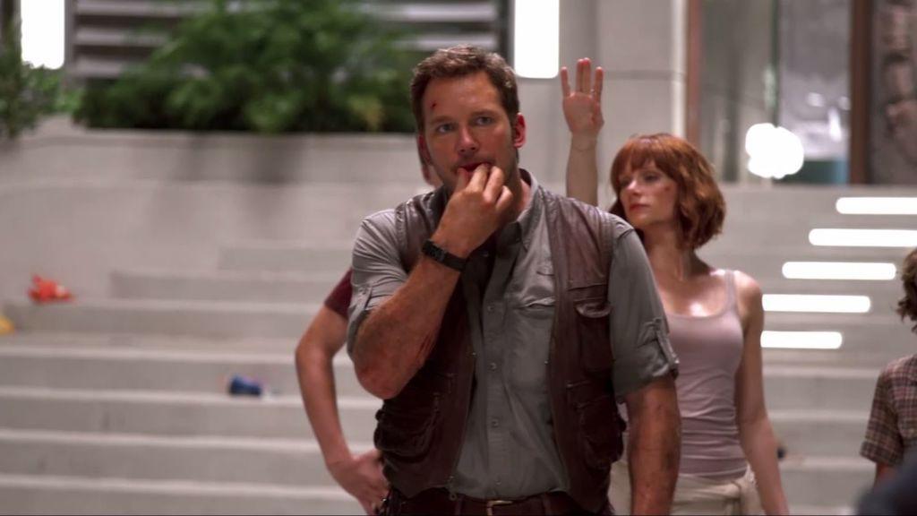 El reto más duro de Chris Pratt durante el rodaje de 'Jurassic World': ¡no sabía silbar!