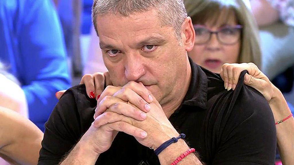 ¿Hay crisis en la relación entre Gustavo y María Lapiedra? Gus no quiere contestar y se derrumba