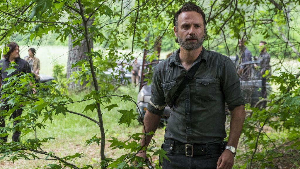 Andrew Lincoln interpreta a Rick Grimes en la octava temporada de 'The walking dead'.