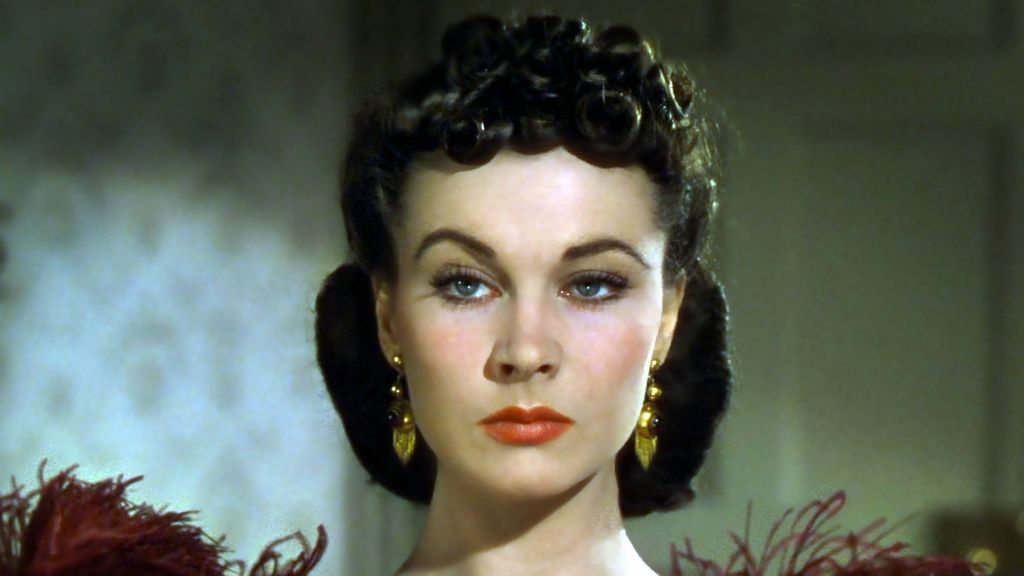 Vivien Leigh, en una secuencia de 'Lo que el viento se llevó'.