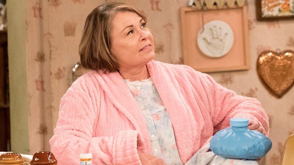 Roseanne Barr, en la serie de ABC 'Roseanne'.