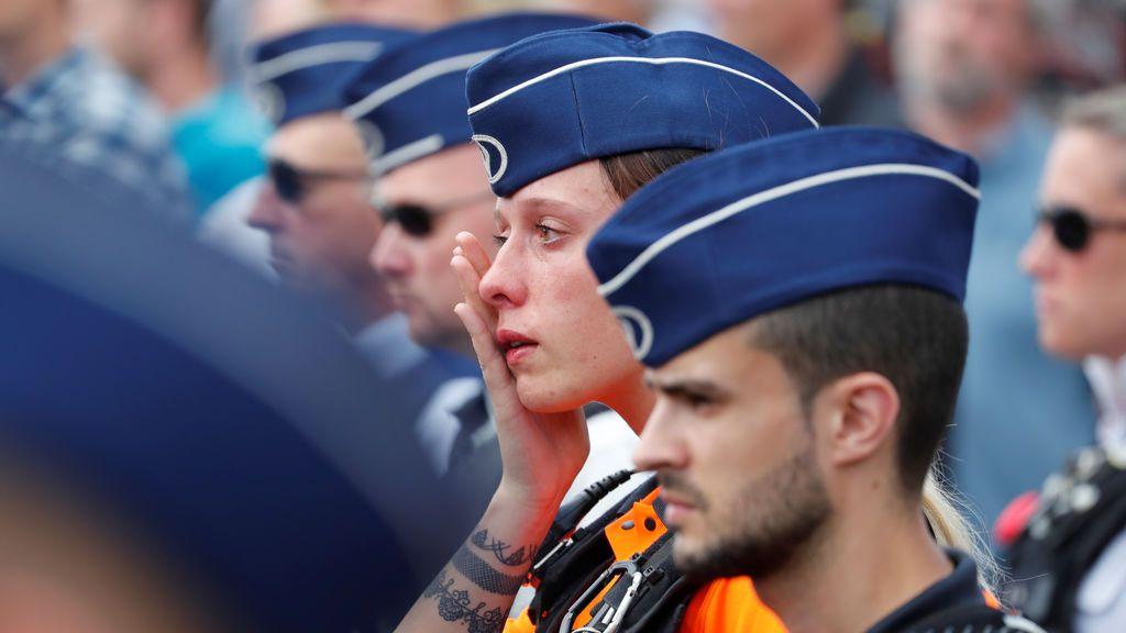 Reacciones al minuto de silencio en Bélgica