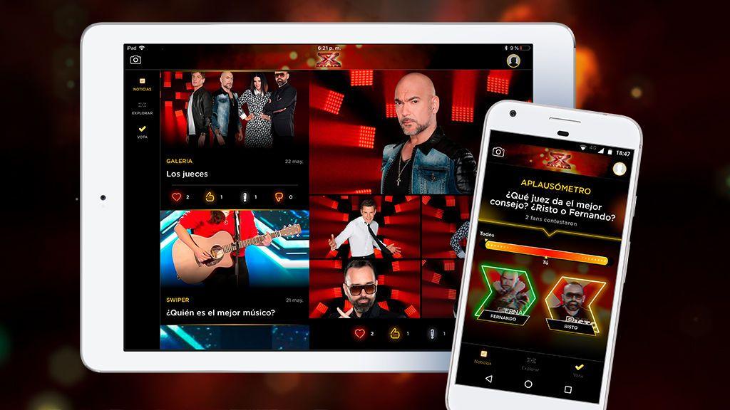 ¡'Factor X' estrena app oficial!
