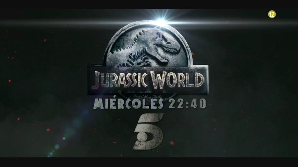 ¡Los dinosaurios ya están aquí! 'Jurassic World', el miércoles a las 22:40 horas en Telecinco