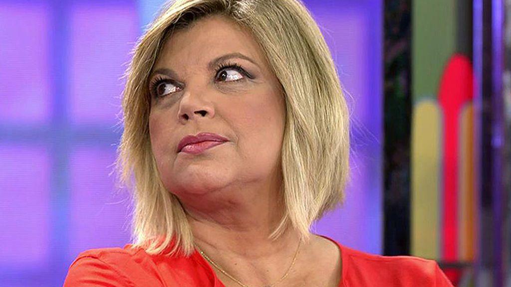 """Terelu se toma con sorna la polémica del yogur: """"Me lo abrían, me lo daban y me limpiaban la boquita"""""""